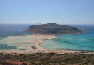 Балос — лучший пляж на Крите.