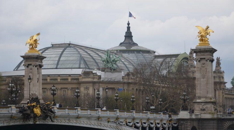 Париж. Легендарный Мост Александра III.