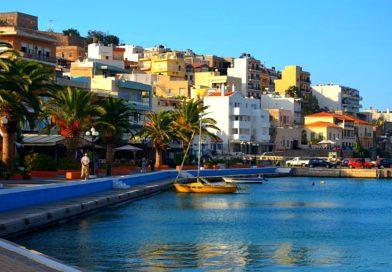 Сития – оживленный городок в Восточной части Крита.