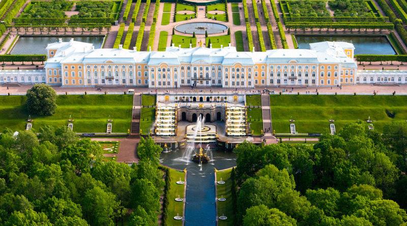 Петергоф — резиденция Российских императоров.