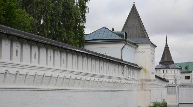 Данилов монастырь первый монастырь Москвы.