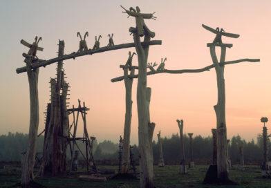 Никола-Ленивец арт-парк в Калужской области.