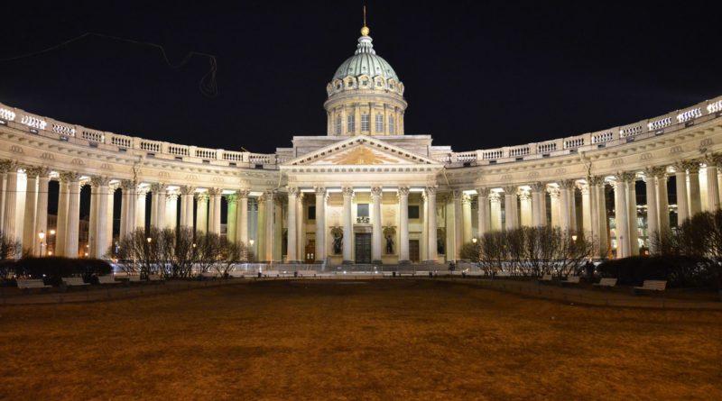 Казанский собор в Санкт-Петербурге.