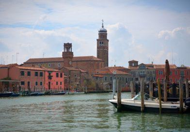 Мурано остров в Италии (Венеция).
