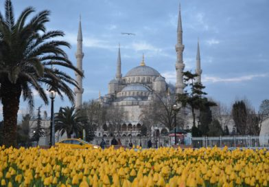 Голубая мечеть или мечеть Султанахмет в Стамбуле.