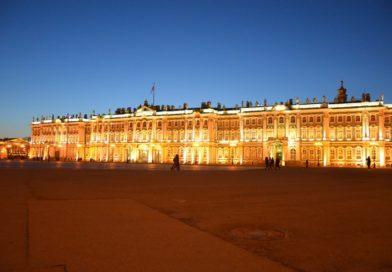 Зимний дворец в Санкт-Петербурге.