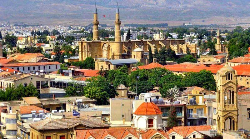 Никосия (Лефкосия) столица Кипра.