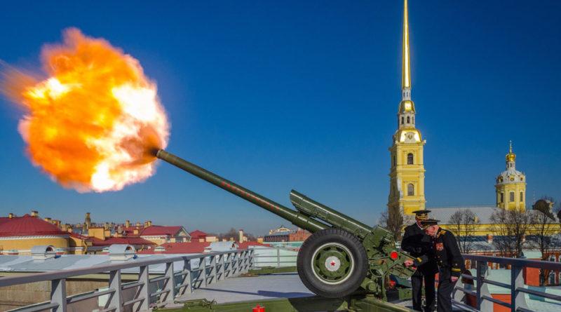Петропавловская крепость в Санкт-Петербурге.