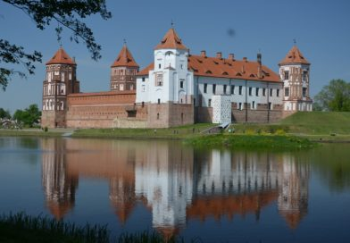 Мир и Мирский замок в Беларуси.