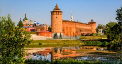 Коломна и Коломенский кремль.