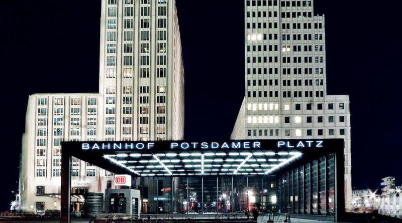Потсдамская площадь и окрестности. Берлин.