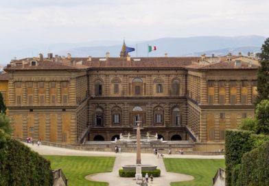 Палаццо Питти (Palazzo Pitti) во Флоренции.
