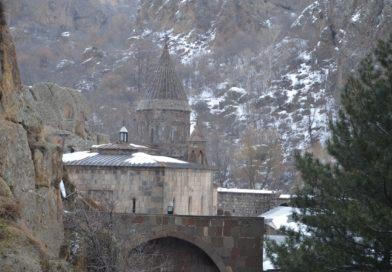 Монастырь Гегард в Армении.