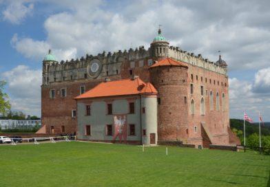 Голюбский замок в Польше.