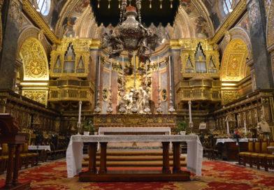 Собор св. Иоанна в Валлетте.