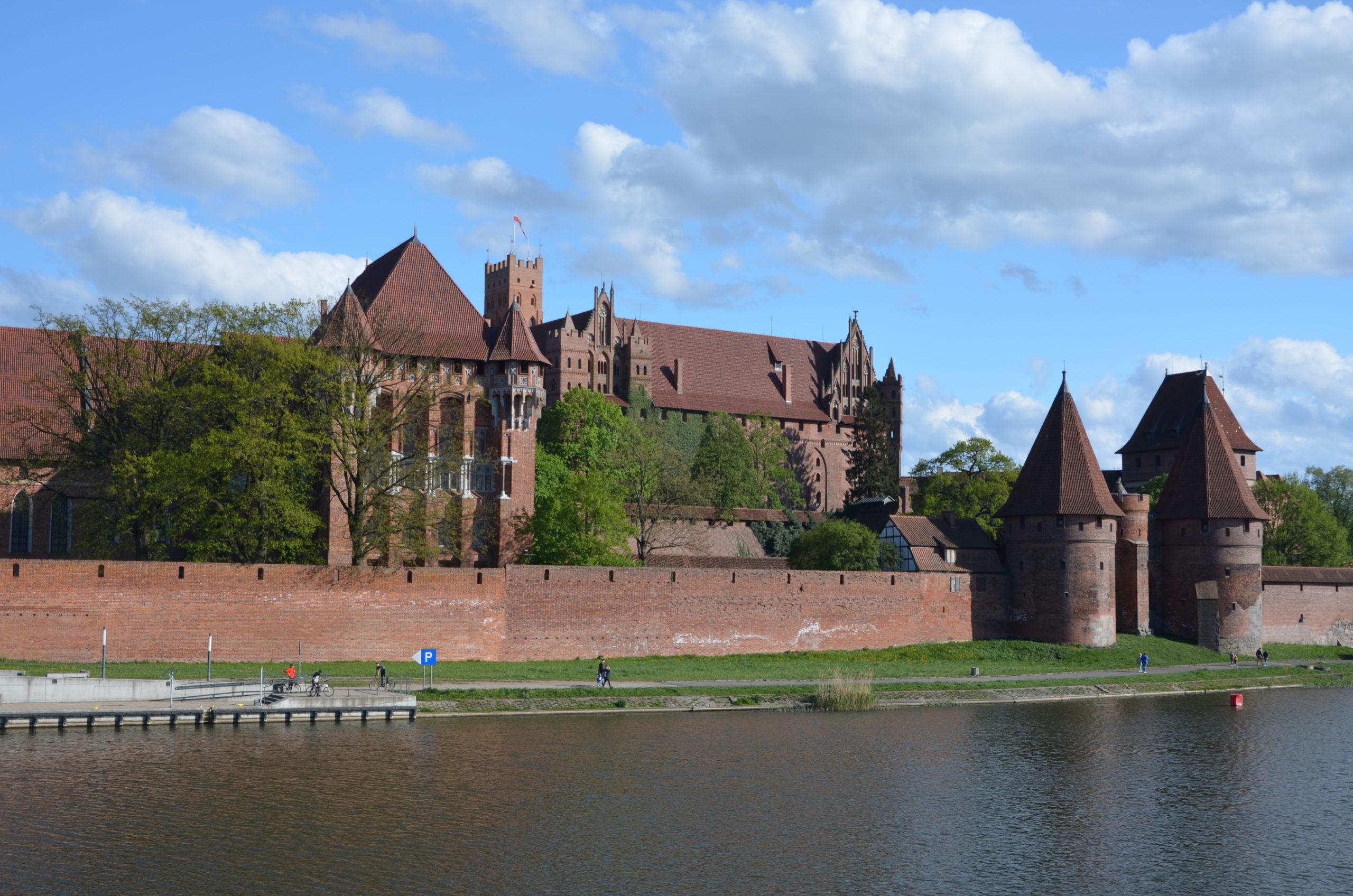 Мальборк — столица рыцарей в Польше.